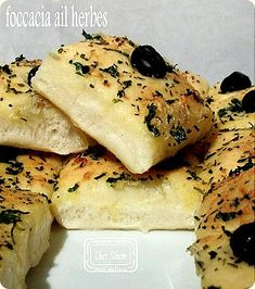 foccacia ail herbes