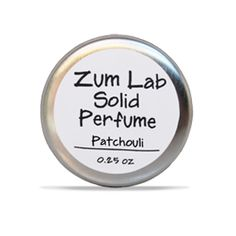 Patchouli - Solid Perfume