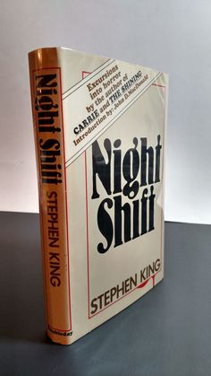 "Night Shift by Stephen King True First Edition Stated with ""S52"" Mark"