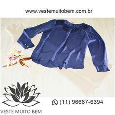 Bata de Viscose detalhe Gola e Punho R$ 7500  Calça Piquet Flare R$ 8800 #vestemuitobem #moda #modafeminina #modaparameninas #estilo #roupas #lookdodia #like4like #roupasfemininas #tendência #beleza #bonita #gata #linda #elegant #elegance