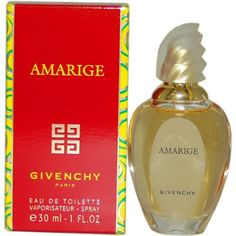 Amarige by Givenchy for Women Eau De Toilette Spray, 1 Ounce by Givenchy. $36.94. It is recommended for casual wear. Amarige by Givenchy for Women. Amarige by Givenchy for Women - 1 oz EDT Spray. Blue Grass was launched by the design house of Elizabeth Arden. This product is a fragrance item that comes in retail packaging. It is recommended for casual wear.. Save 16%!
