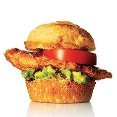 Southwest Crispy Chicken Sliders | MyRecipes.com
