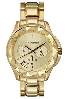 KARL LAGERFELD Zegarek chronograficzny goldcoloured