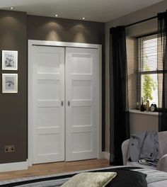 Gentil This Primed 4 Panel Shaker Door Is Primed And Ready For Painting To Suit  Your Home.