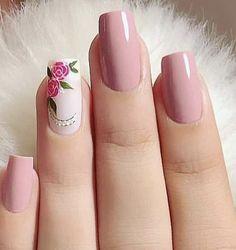 Make an original manicure for Valentine's Day - My Nails Pink Nail Art, Cute Acrylic Nails, Acrylic Nail Designs, Pink Nails, Nail Art Designs, Chic Nails, Stylish Nails, Trendy Nails, Shellac