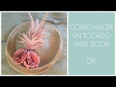 COMO HACER UN TOCADO PARA BODA - DIY - YouTube