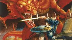 How the Art of Dungeons and Dragons Helped Make It a Phenomenon - VICE Dragon Rpg, Dragon Games, Age Of Empires, Fantasy Series, Fantasy Rpg, How To Play Dnd, Dungeons And Dragons Movie, Dragon Movies, American Horror