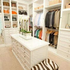 Perfect closet! Where can I get one of these in nyc...