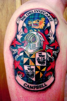 clan campbell family crest tattoo tempted to get this motto too the whole crest is a. Black Bedroom Furniture Sets. Home Design Ideas