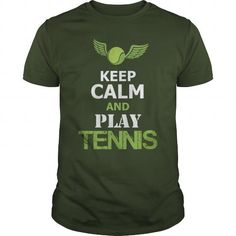 Cool #TeeForTable Tennis KEEP CALM AND PLAY… - Table Tennis Awesome Shirt - (*_*)