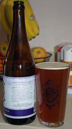 Lickinghole Creek Craft Brewery Magic Beaver Belgian-Style Pale Ale Belgian Pilsner malts, Belgian yeast, Galena and Columbus Hops