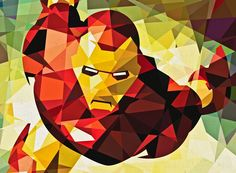 Art by Eric Dufresne. Iron Man.
