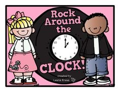Telling Time - Rock Around the Clock!  Activity sheet/posters to help students tell time to the hour, half hour, quarter hour and every five minutes.  TpT