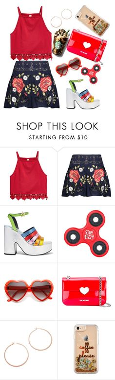 """""""Vacation"""" by shreyatorvi ❤ liked on Polyvore featuring Haute Hippie, MR by Man Repeller, Love Moschino and Jennifer Zeuner"""