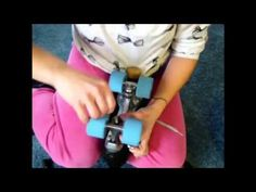 Roller Derby: How to Change Your Roller Skate Bushings. (this one works)