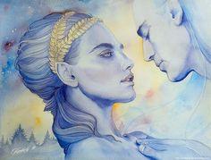 Nan Elmoth by kimberly80.deviantart.com on @DeviantArt. The meeting of Melian and Elwë...