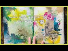 A Different Way to Gelli Print + Quick Journal Binding Tutorial - YouTube