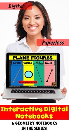 Go paperless with this digital resource for geometry.  The slides cover lines, line segments, points and rays.  Students practice drawing these plane figures as well as solving problems involving these plane figures.  Includes answer key and scoring guide.  Come check out the PREVIEW!