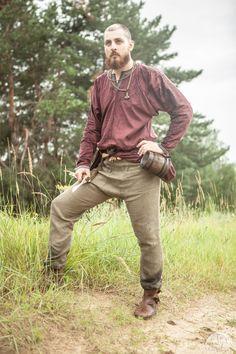 """Viking Linen Pants """"Eric"""""""