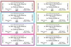 event ticket template printable party tickets raffle tickets event tickets concert ticket template