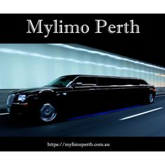 Black Limousine in Perth Western Australia by Mylimo Perth. Stunning Jet Black sleek limousine driving through the Graham Farmer Freeway Tunnel in Northbridge. Mylimo offer Cheap Limo hire Perth prices so you can have an affordable night out in style.