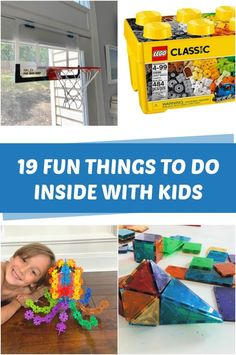 Fun things to do inside with kids Things To Do Inside, Fun Things, Toddler Crafts, Crafts For Kids, Creative Toys For Kids, Building Toys For Kids, Kids Indoor Playground, Magic Treehouse, 19 Kids