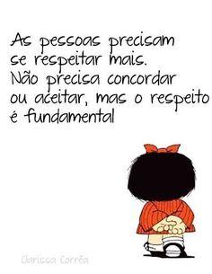 #respeito                                                                                                                                                                                 Mais