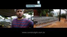 Casa 3 Pavimentos Estrutura Híbrida - Perfis I e Light Steel Frame