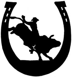 silhouette images bullrider - Bing Images