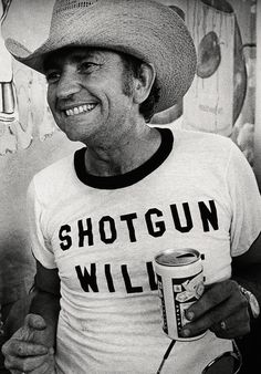mighty willie nelson wearing a willie nelson t-shirt with the title of awillie nelson songhe wrote about willie nelson…