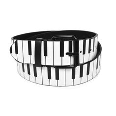 Piano Belt - What a great music gift idea for the  piano player in your life. Keyboard gifts for musicians. Also makes great stage wear.   http://store.drumbum.com/skuMGMSC-795.html