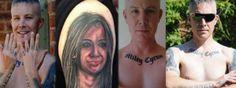 Se Tatuó 29 Tatuajes De Miley Cyrus Y La Cantante Le Pidió Que Se Los Quitara - #¡WOW!  http://www.vivavive.com/miley-cyrus/