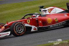 セバスチャン・ベッテル、ハロー・コクピットカバー、2016年F1イギリスGP フリー走行1回目