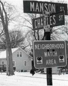 Charles Manson corner