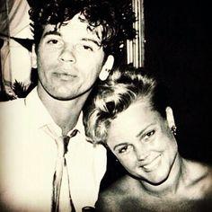 Michael Hutchence and Belinda Carlisle at Rock in Rio - 1985