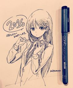お久しぶりです生きてます 遅れましたがあけましておめでとうございます今年は絵を何か形にできたらいいなと思っております今年もよろしくお願いします by mitsumayo