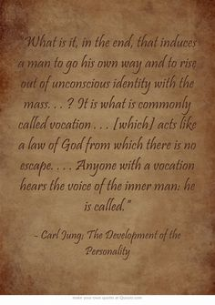 """""""What is it, in the end, that induces a man to go his own way... https://www.facebook.com/groups/56536297291/"""