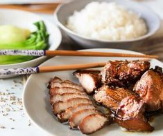 Use your Air Fryer to make this amazing Cantonese Char Siu Pork recipe! It's saucy and delicious and ready to eat in a flash!