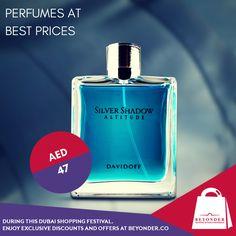 Get perfumes at http://beyonder.co/fragrances/davidoff-silver-shadow-m-edt-100ml - lowest price with #BeyonderPriceMatchPromise.  #DubaiShoppingFestival #Beyonder     #BestAtBeyonder