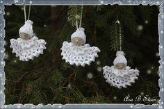 Ett litet julmönster till hinner vi väl med? Denna lilla ängel är lätt att virka och går ganska fort att göra. Jag tänker att den blir...