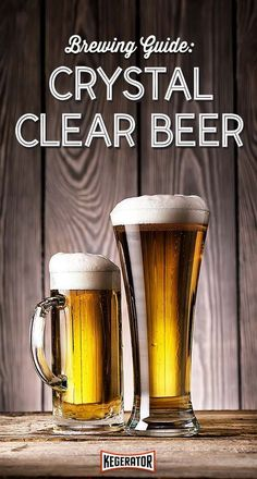 Brewing Guide: How to brew crystal clear beer #homebrewingbeer