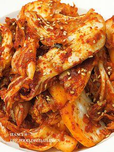 Korean Food, Kimchi, Chicken Wings, Cooking Recipes, Food, Korean Cuisine, Chef Recipes, Recipies