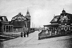 Haltestraat Zandvoort (jaartal: 1920 tot 1930) - Foto's SERC