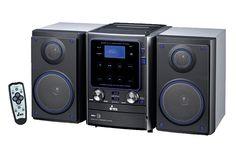 """MICROCOMPONENTE MCY25  Pantalla de 7""""(17.8cm) Reproduce CD y MP3 Entrada USB Entrada para SD Sintonizador de radio FM Dos bocinas de 2x20 Watts RMS Potencia Máxima 500 Watts MAX"""