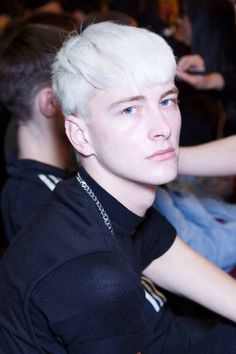 Mens Hair Colour, Hair Color, Fine Hair Men, Ivan Bubalo, Cool Haircuts, Great Hair, Male Models, Top Models, White Hair