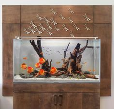 You might have seen an aquarium somewhere and thought of having it in your home or office. It has now become very convenient to install an aquarium at your place. There are various online shops that. Aquarium Terrarium, Diy Aquarium, Aquarium Design, Fish Aquarium Decorations, Aquarium Setup, Aquarium Fish Tank, Biotope Aquarium, Aquascaping, Discus Tank