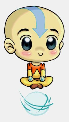 The Last Airbender Avatar by Jovimia. What a sweetie.
