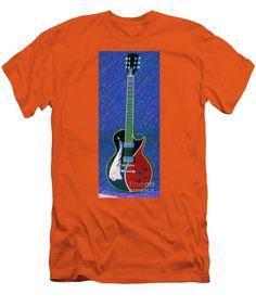 Men's T-Shirt (Slim Fit) - Guitar 0817