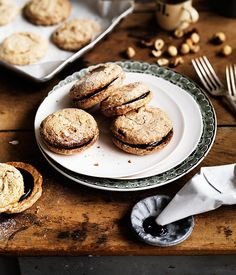 Crisp hazelnut meringues recipe | Alice Waters recipe - Gourmet Traveller