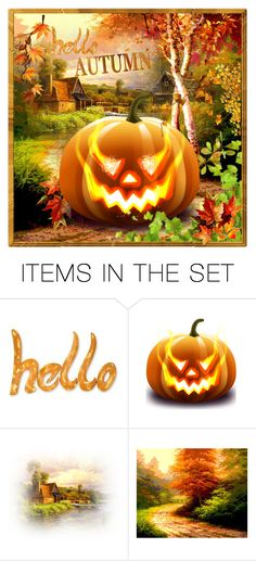 """herfst"" by groen ❤ liked on Polyvore featuring art"